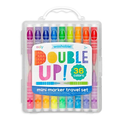Ooly Double Up! 2-in-1 Mini Markers - Set of 36