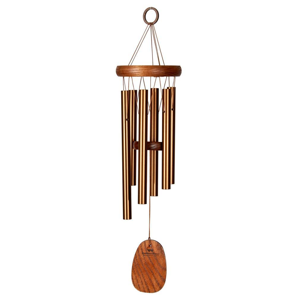 Woodstock Chimes Amazing Grace Small Bronze Chime