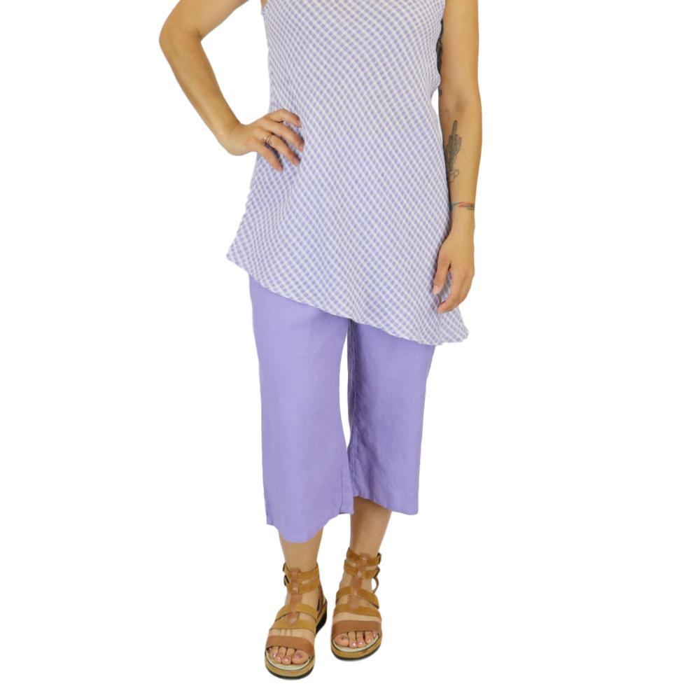 FLAX Women's Crop Pant LILAC