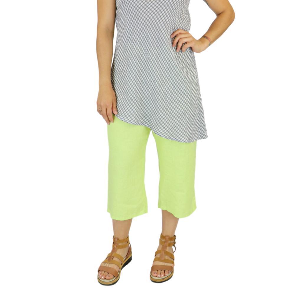 FLAX Women's Crop Pant PEAR