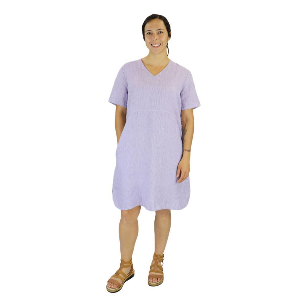 FLAX Women's Tee Shirt Dress LILACSTRIA