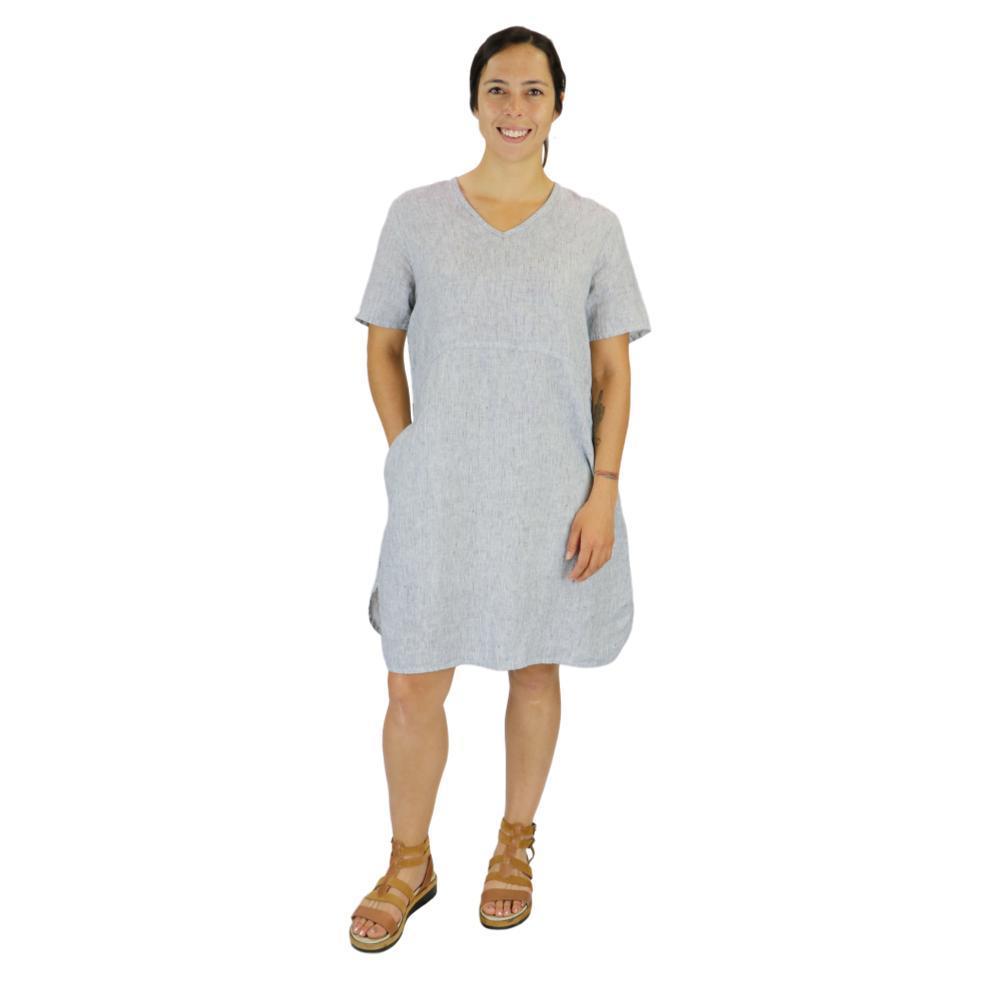 FLAX Women's Tee Shirt Dress NAVYSTRIA