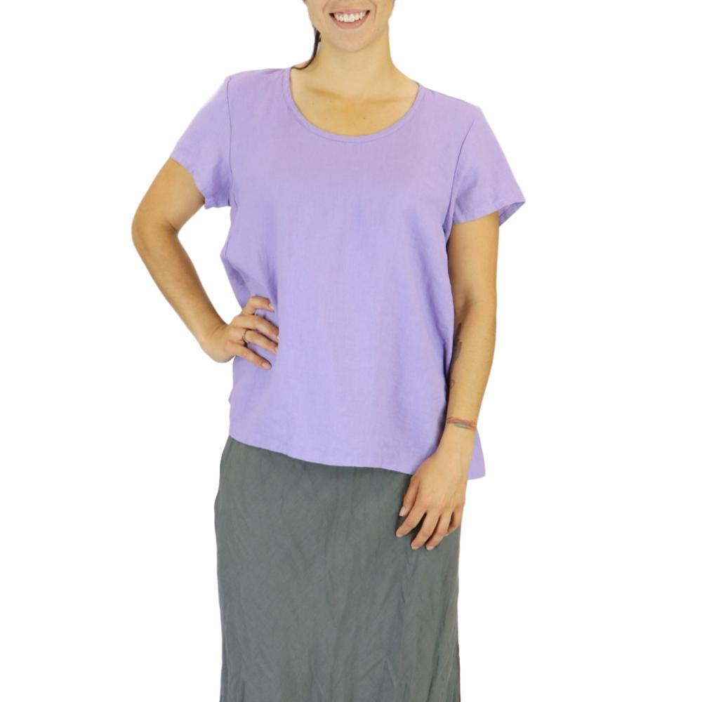 FLAX Women's Weightless Tee Top LILAC