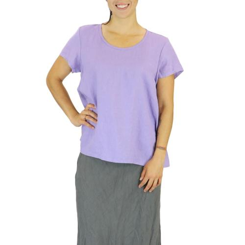 FLAX WomenÕs Weightless Tee Top Lilac