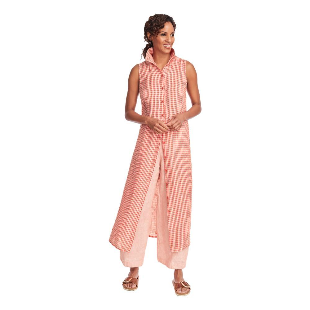 FLAX Women's Dresser Maxi Dress in Gingham POPPYGINGHAM