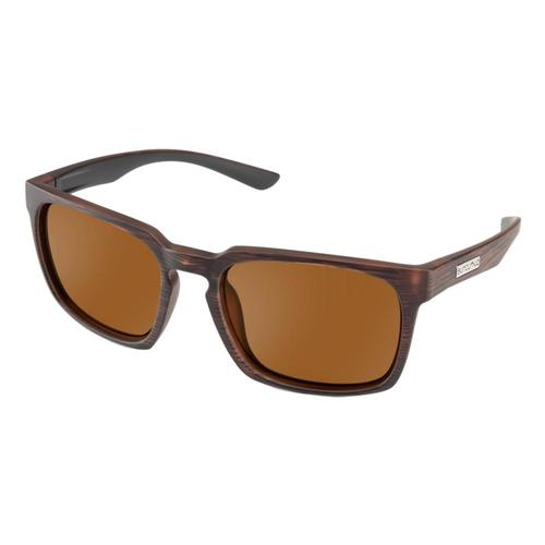 Suncloud Polarized Optics Hundo Polarized Sunglasses Burnbrown