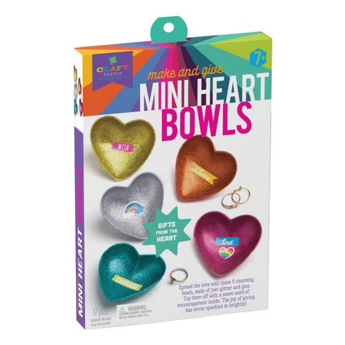 Craft-tastic Make & Give Mini Heart Bowls Kit