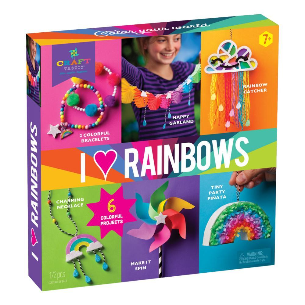 Craft- Tastic I Love Rainbows Kit