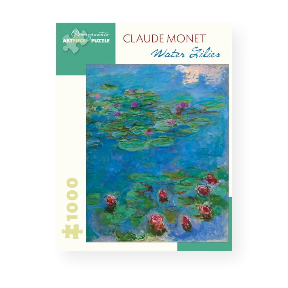 Pomegranate Publishing Water Lilies By Claude Monet 1, 000- Piece Jigsaw Puzzle