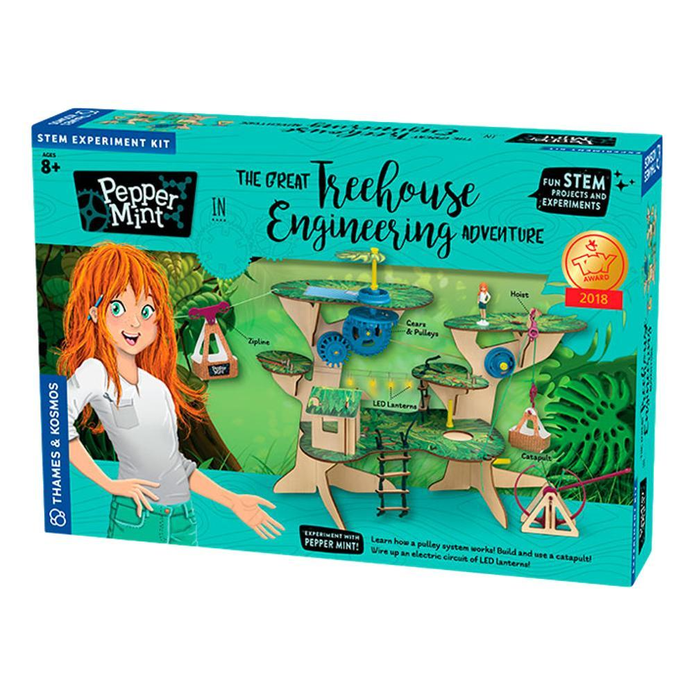 Thames And Kosmos The Great Treehouse Engineering Adventure Kit