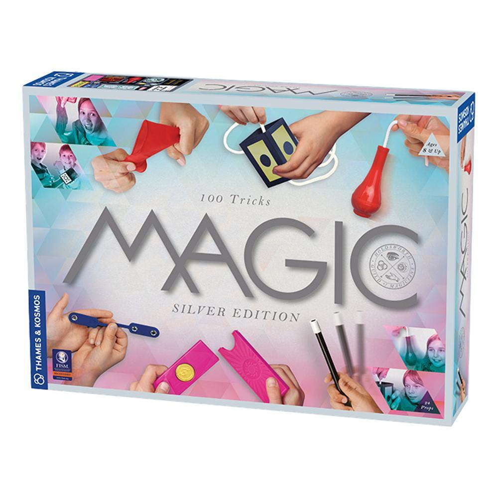 Thames And Kosmos Magic Activity Kit Silver Edition