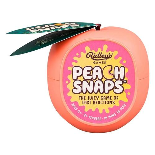 Ridley's Peach Snaps Card Game