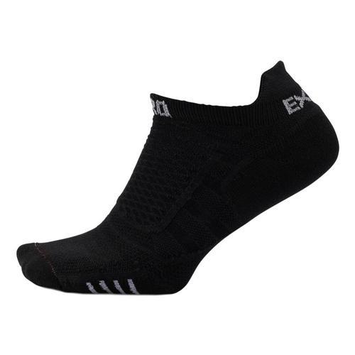 Thorlos Unisex XPTU Experia Prolite No-Show Tab Socks Blk/Blk