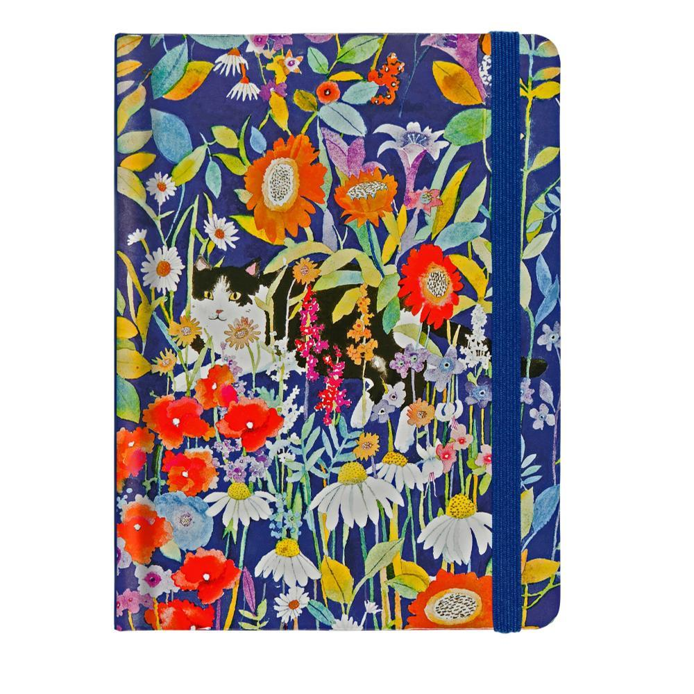 Peter Pauper Press Garden Cat Journal - Mid- Size