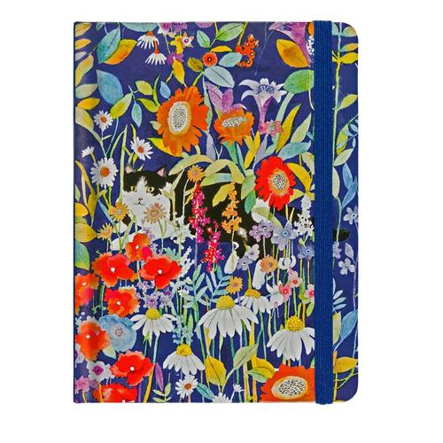 Peter Pauper Press Garden Cat Journal - Mid-Size