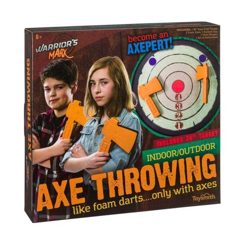 Toysmith Warrior's Mark Axe Throwing Set