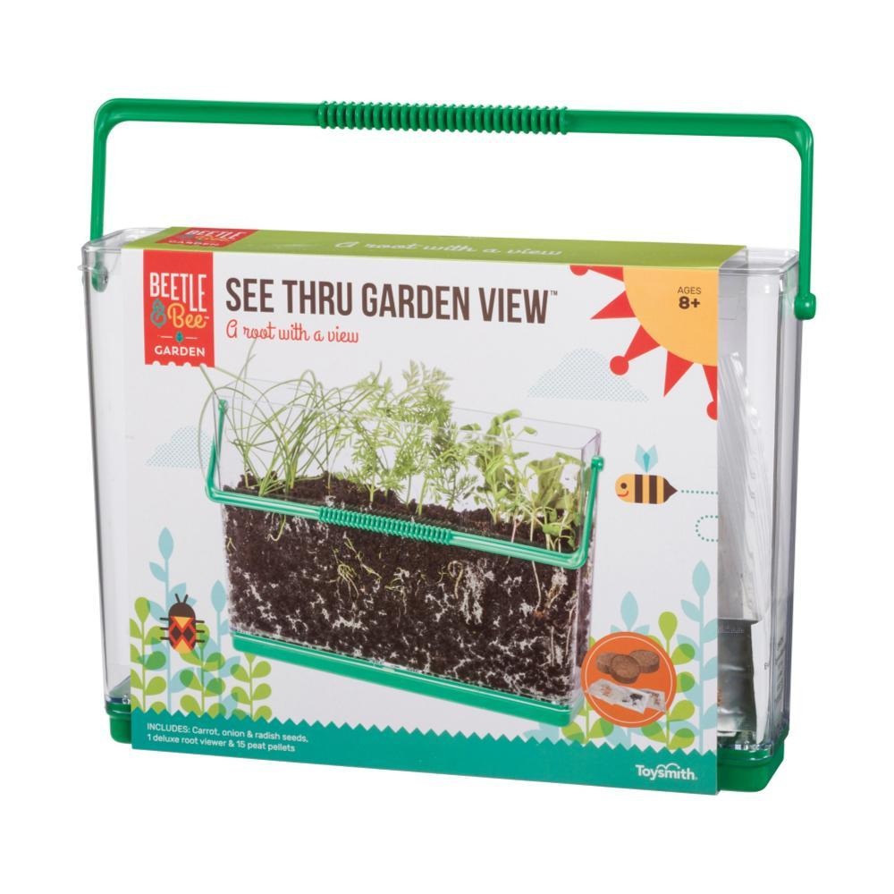 Toysmith Beetle & Bee Garden See Thru Garden View Root Viewer