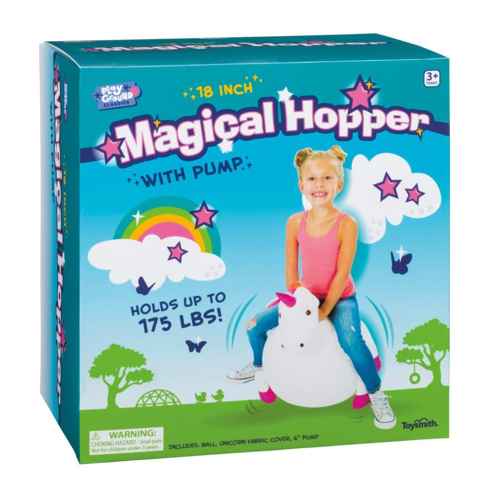 Toysmith Play Ground Classics 18in Magical Hopper Ball