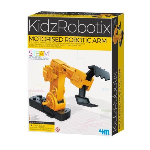 Toysmith 4M Motorized Robotic Arm Kit