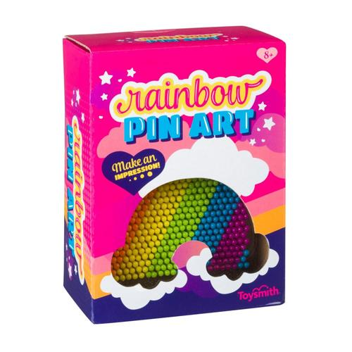 Toysmith Rainbow Pin Art
