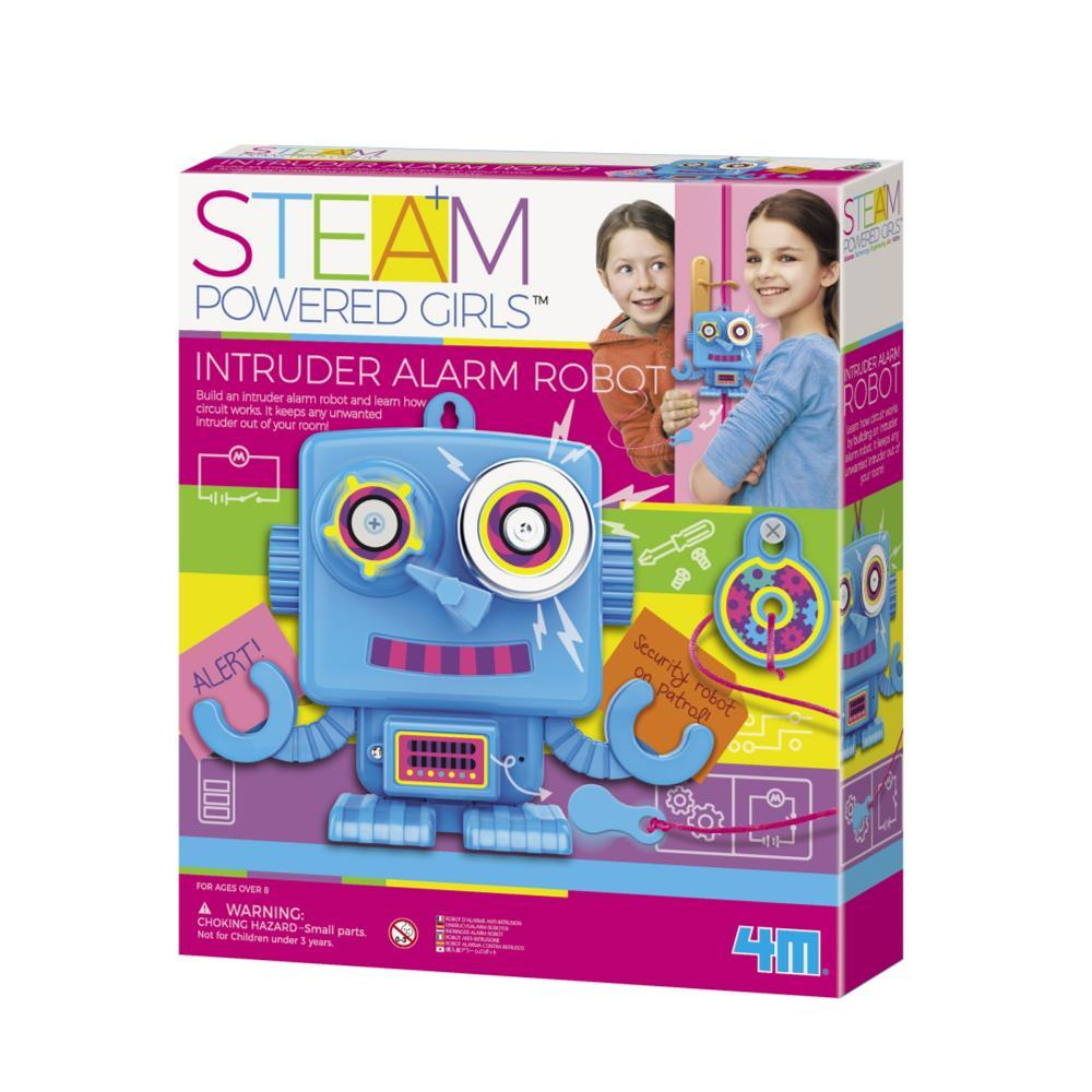 Toysmith 4m Steam Intruder Alarm Robot Kit