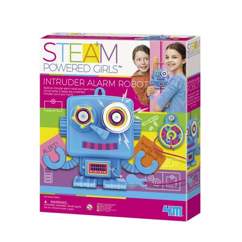 Toysmith 4M STEAM Intruder Alarm Robot Kit