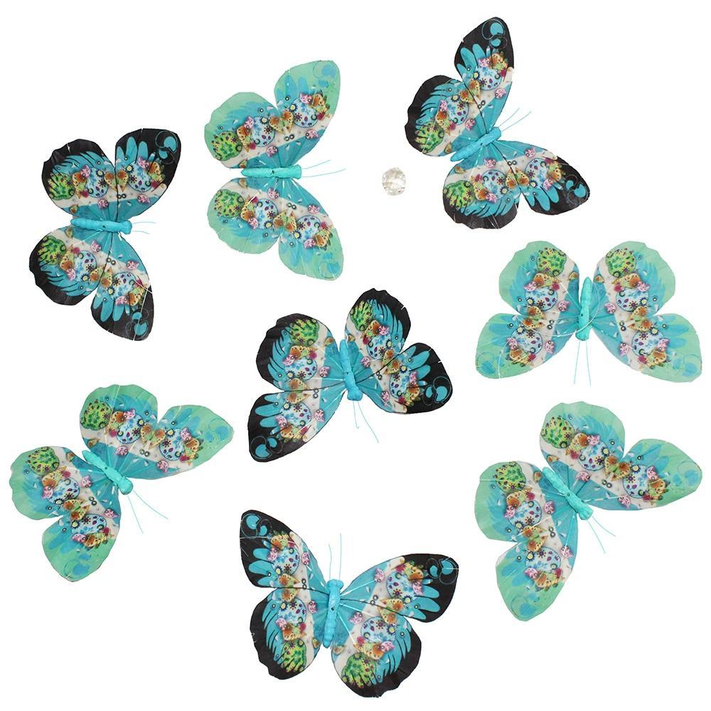 World Buyers Fantasy Butterfly Garland