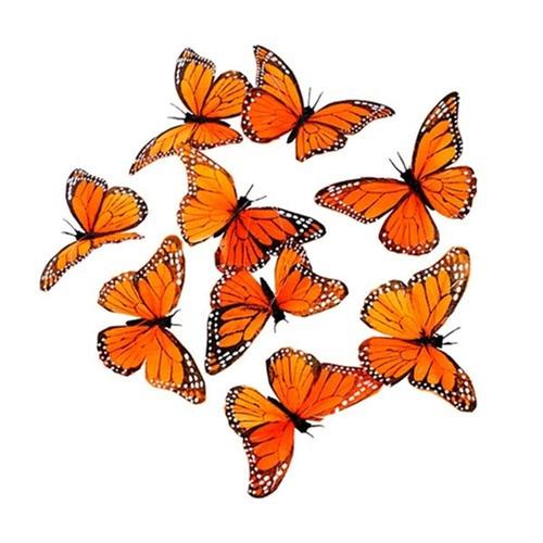 World Buyers Monarch Butterfly Garland