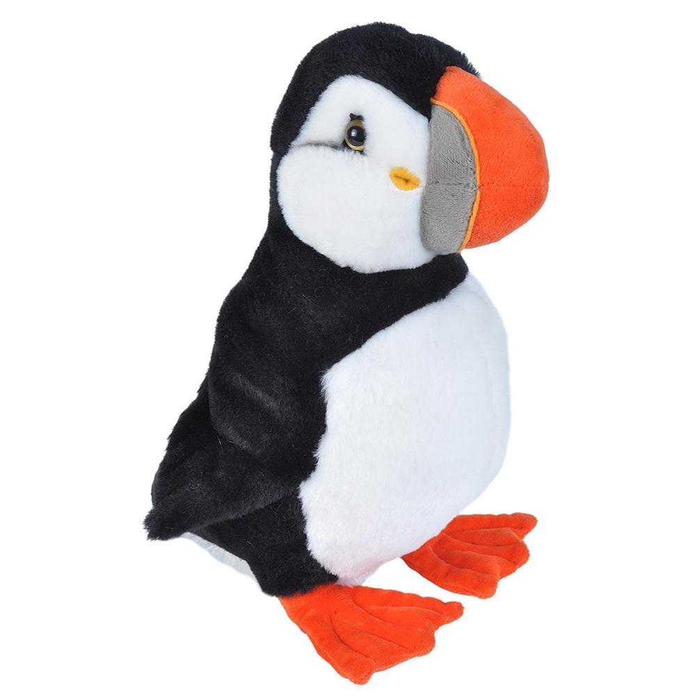 Wild Republic Cuddlekins Puffin Stuffed Animal - 12in