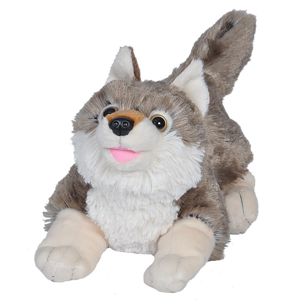Wild Republic Playful Wolf Stuffed Animal - 12in