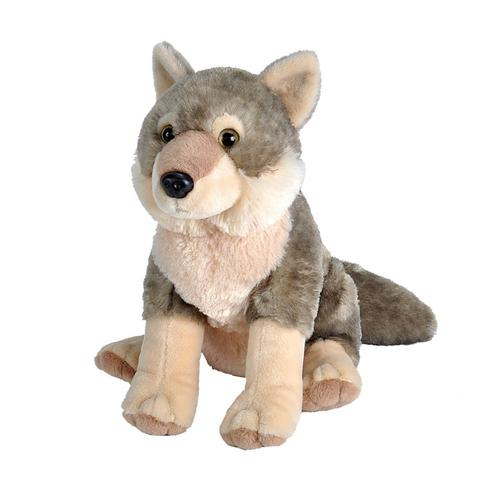 Wild Republic Cuddlekins Wolf 12in Stuffed Animal