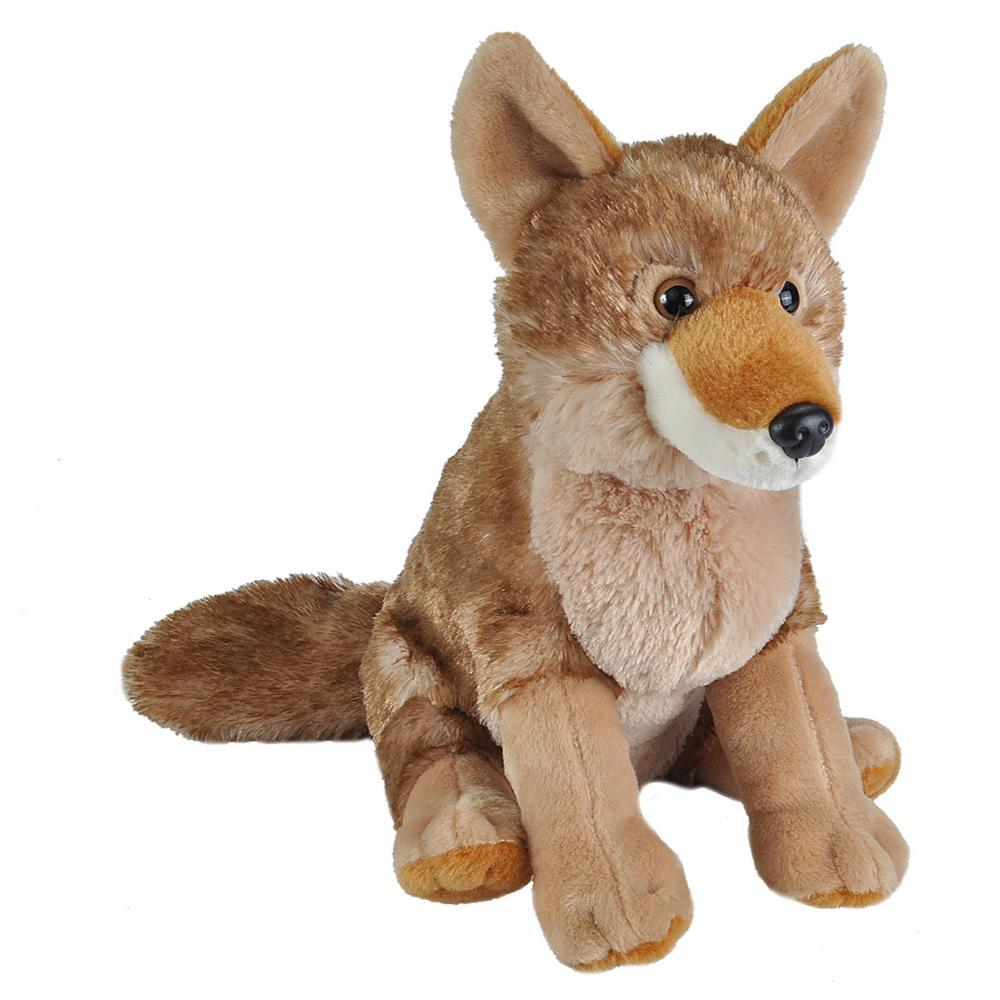 Wild Republic Cuddlekins Coyote Stuffed Animal - 12in