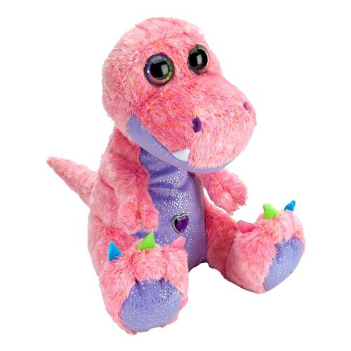 Wild Republic Sweet & Sassy Colorful T-Rex 12in Stuffed Animal