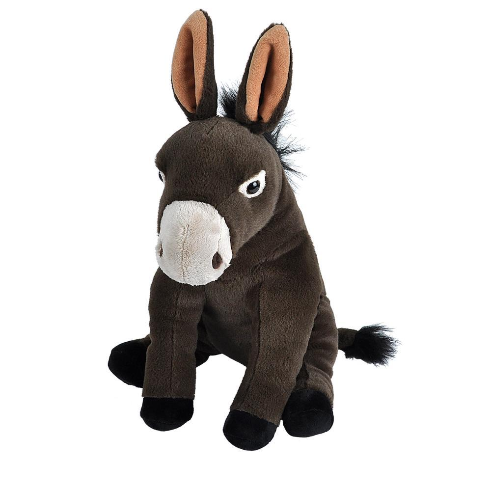 Wild Republic Cuddlekins Mule Stuffed Animal - 12in