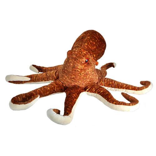 Wild Republic Cuddlekins Jumbo Octopus Stuffed Animal