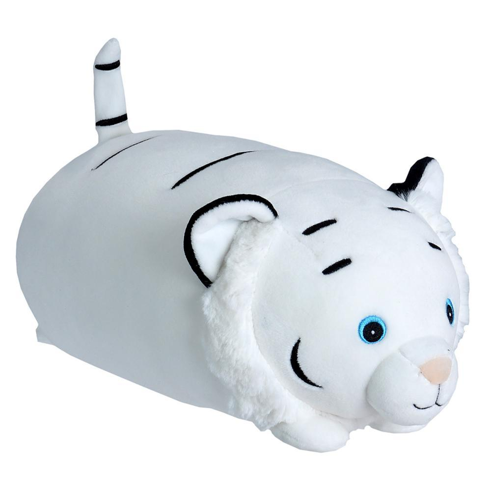 Wild Republic Dream Puffs White Tiger Stuffed Animal - 10in