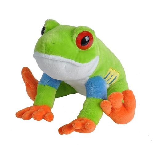 Wild Republic Cuddlekins Red Eyed Tree Frog 12in Stuffed Animal