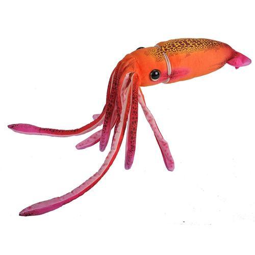 Wild Republic Orange Squid - 12in