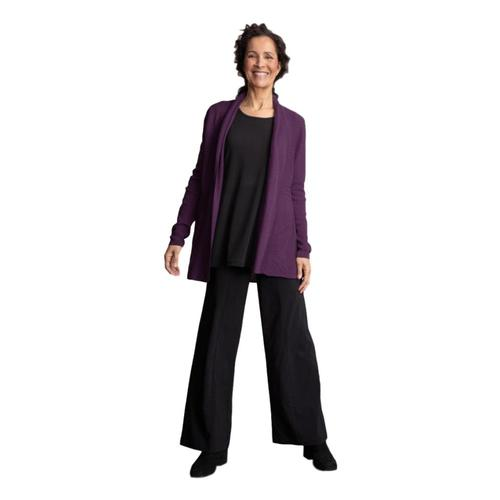 Habitat Women's Perfect Swing Cardigan Eggplant