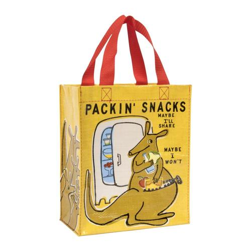Blue Q Packin' Snacks Handy Tote