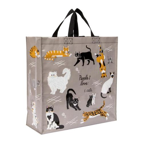 Blue Q People I Love: Cats Shopper