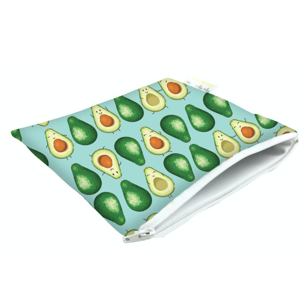 Itzy Ritzy Snack Happens Reusable Snack And Everything Bag GUACSTAR