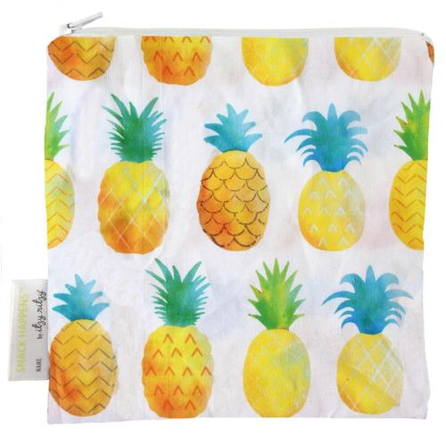 Itzy Ritzy Snack Happens Reusable Snack And Everything Bag Pineapple
