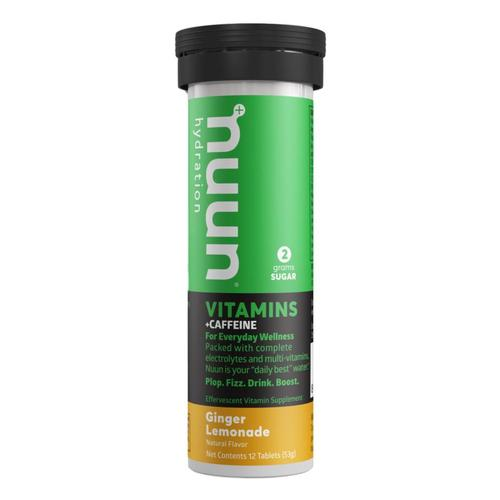 Nuun Vitamins + Caffeine - Ginger Lemonade Tablets Gngr_lemonade