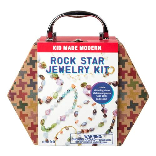Kid Made Modern Rock Star Jewelry Making Kit
