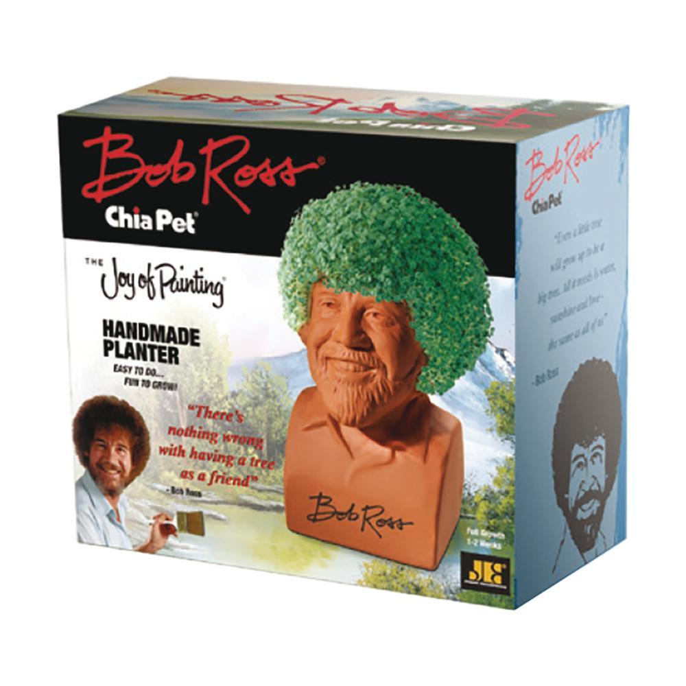 Chia Pet - Bob Ross