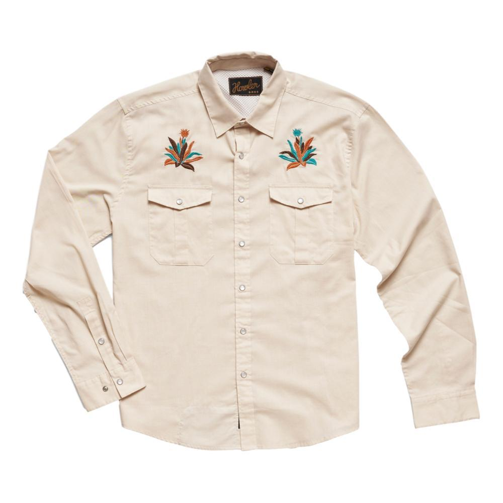 Howler Brothers Men's Gaucho Pure Agave Snapshirt WHITEOX