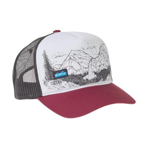KAVU Walcott Hat Maroon_7