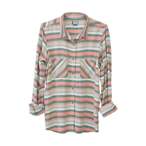 KAVU Women's Britt Shirt Peachtree