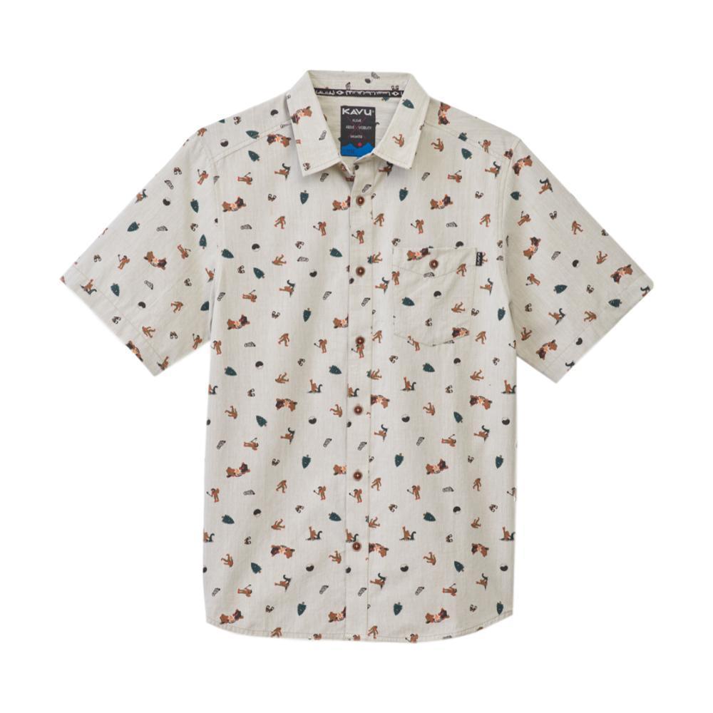 KAVU Men's Juan Shirt SASWHITE
